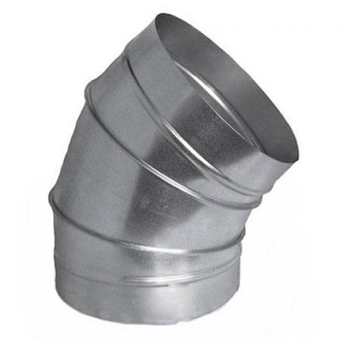 круглый отвод 45°