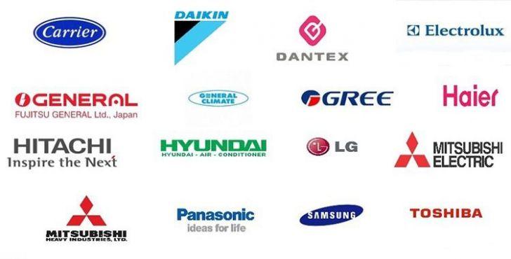 бренды кондиционеров